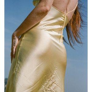 a2a469bfe4771 Vivien Ramsay Intimates & Sleepwear - Vivien Ramsay Granny Slip Dress in  Yellow